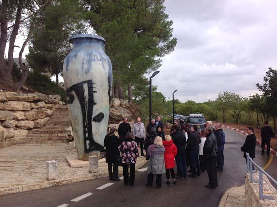 Яд Вашем. Израиль. Поездка пасторов в музей Холокоста.